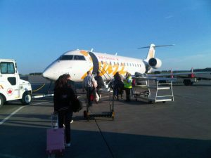 My plane for Regina